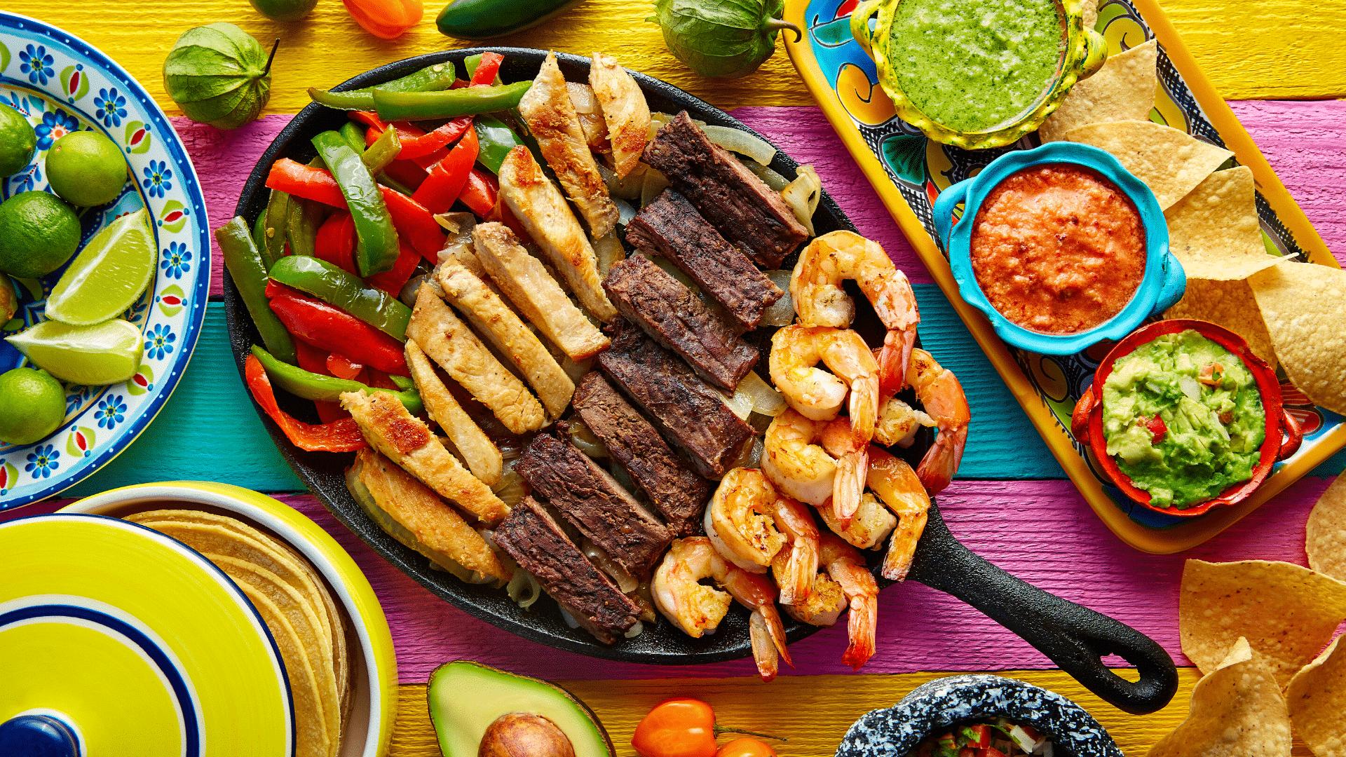 Enkel taco